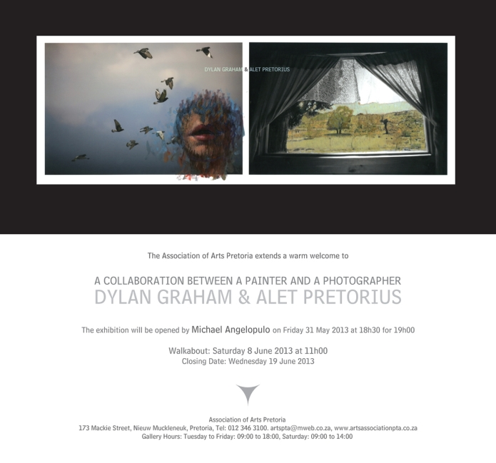 Invitation Dylan Graham and Alet Pretorius 2013