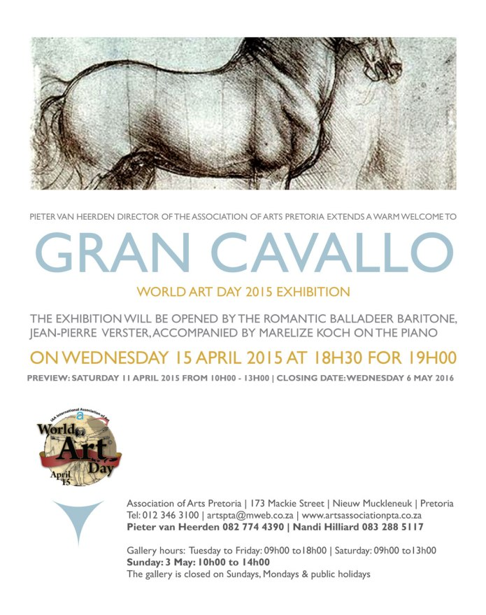 Email invite World Art Day 2015
