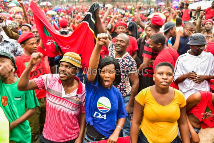National Day of Action march in PTA
