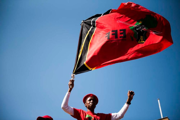 EFF march Vote of no confidence